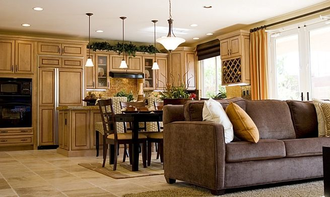10 diseños de sala, comedor y cocina juntos | diseños de salas