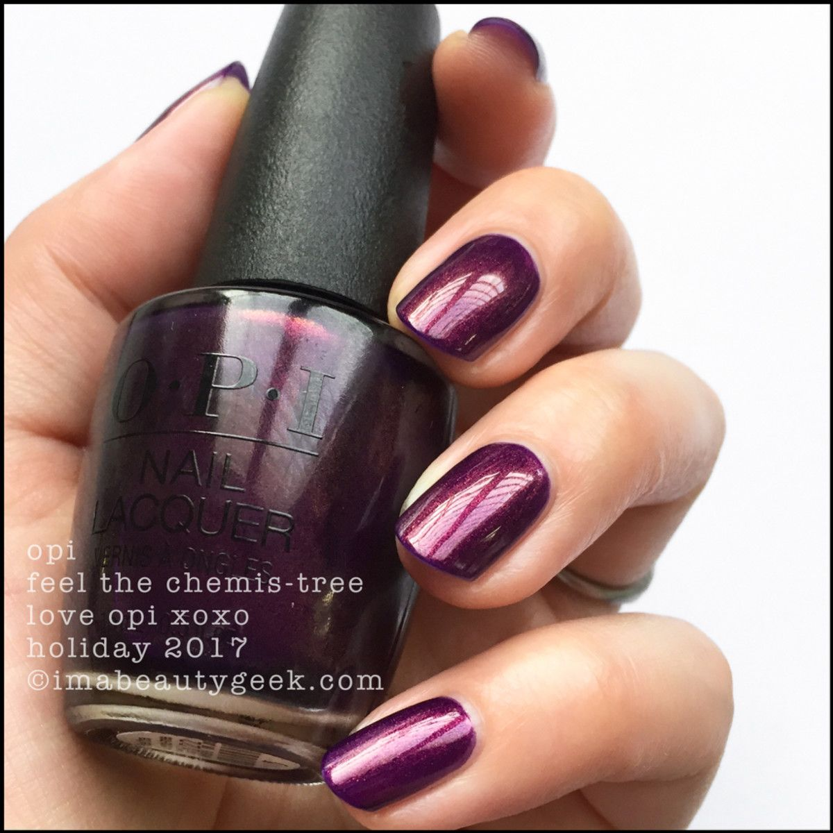 LOVE OPI XOXO HOLIDAY 2017 SWATCHES & REVIEW