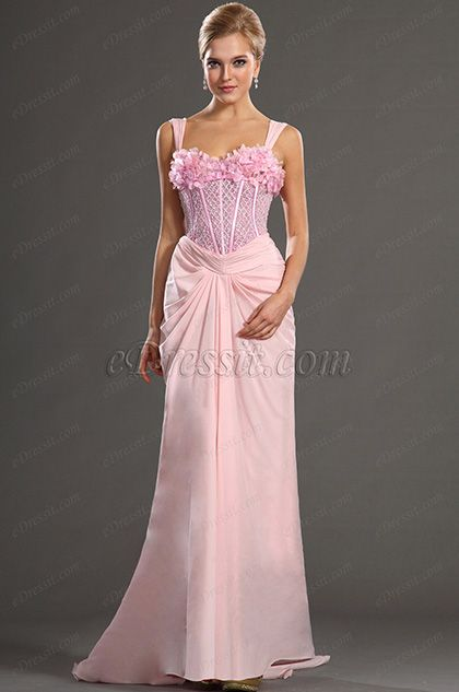 eDressit 2013 S/S Fashion Show Pink Straps Evening Dress Prom Gown (F00130801) #edressit #fashion #dresses #eveningdresses #pinkeveninggowns #promgowns #formalwears