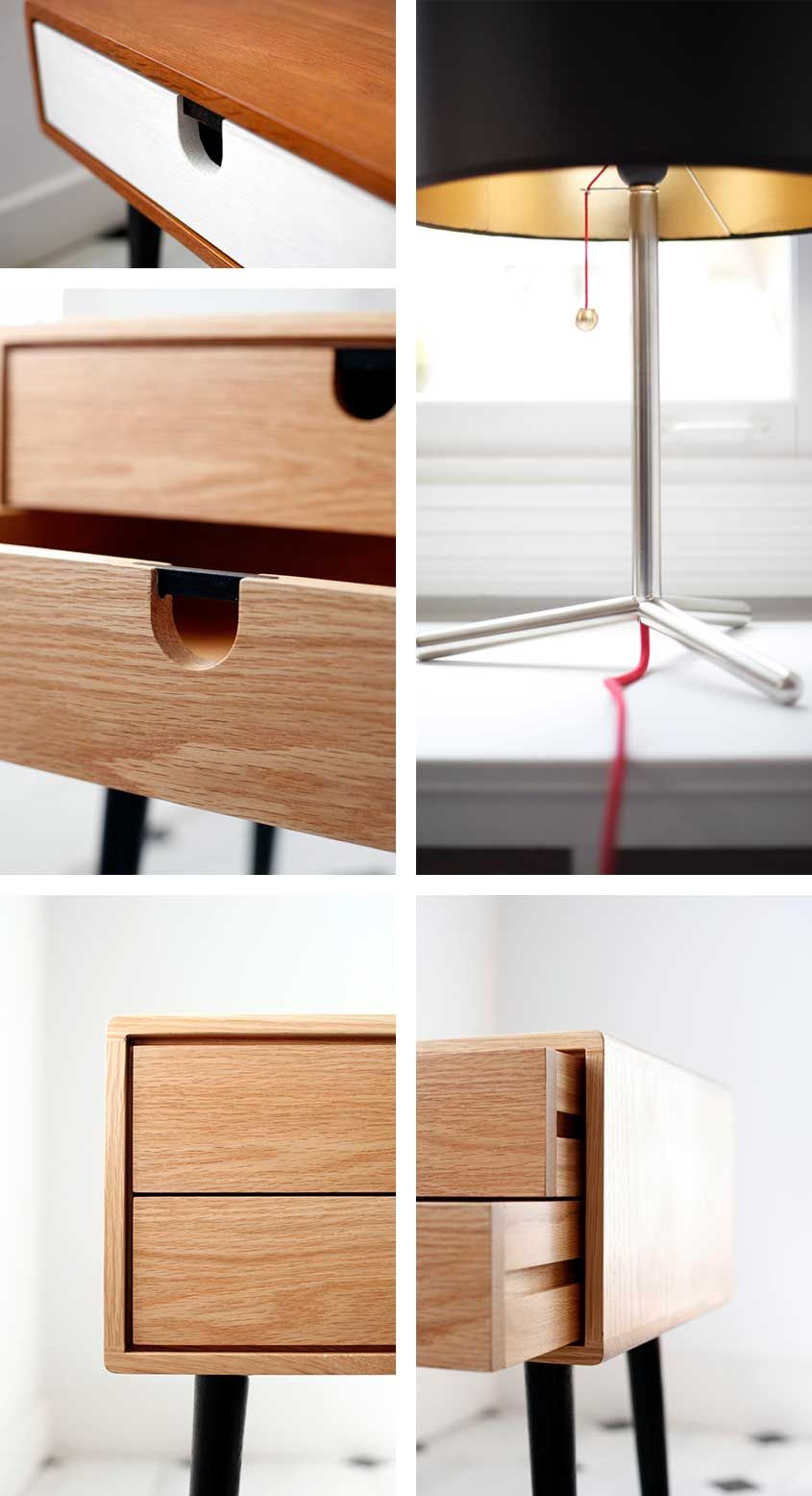 Handmade for the home lamps and furniture by habitables lab home