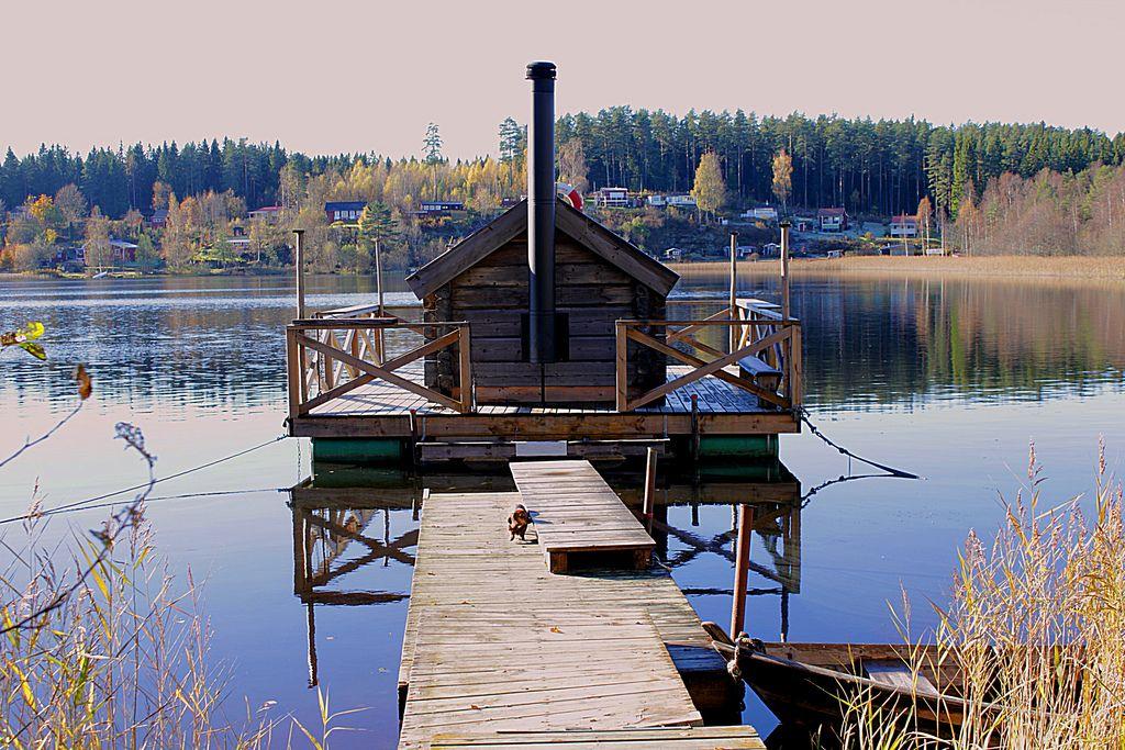 Vimmerby Nossen Finnish sauna, Sauna