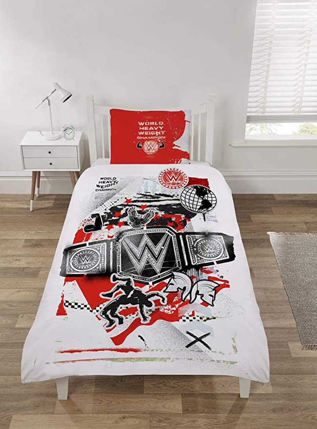 Double Bed Duvet Cover Set WWE