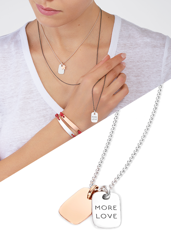 Express yourself and share love with Dodo rose gold or silver Tag charms on  your Everyday necklace. Discover all jewels of the new collection. e3b4488ffd