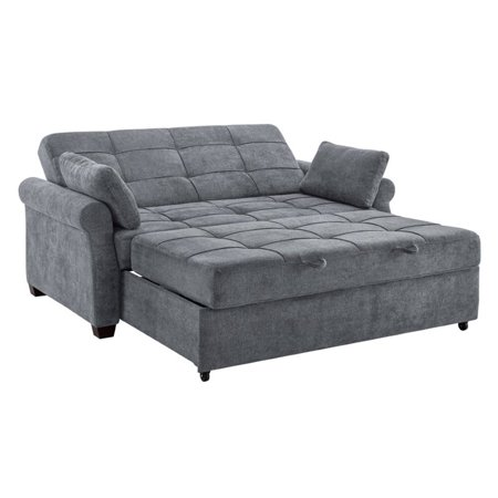 Serta Haiden Queen Sofa Bed Gray Walmart Com In 2020 Sofa Bed For Small Spaces Queen Size Sofa Bed Queen Size Sofa