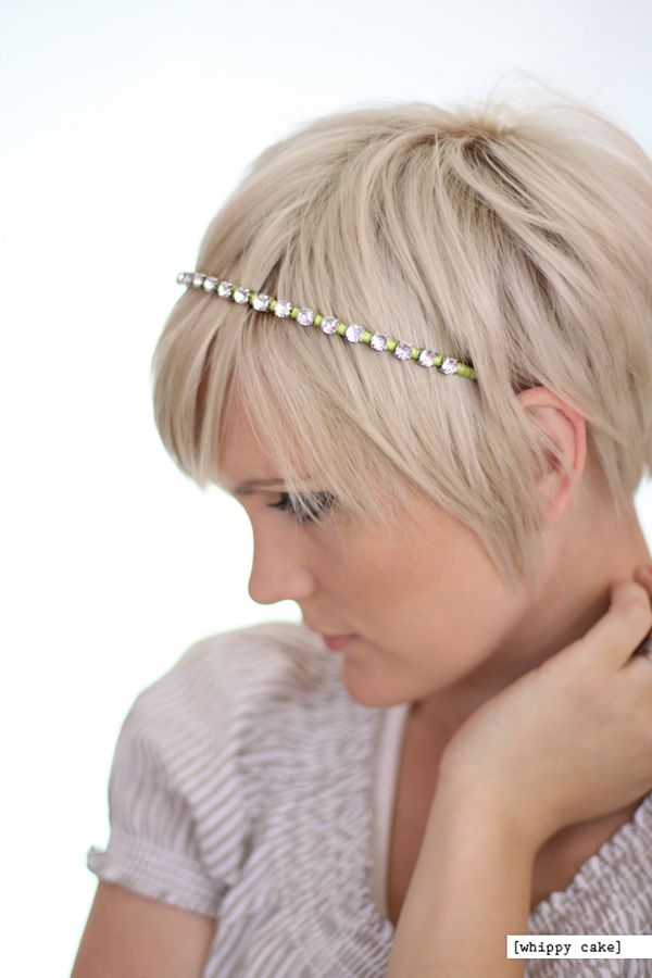 pretty new things Short hair accessories, Headband
