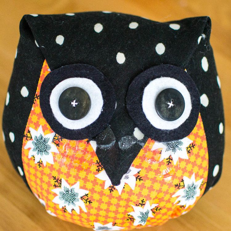 Adorable Owls - Free Sewing Pattern & Tutorial   Sewing patterns ...