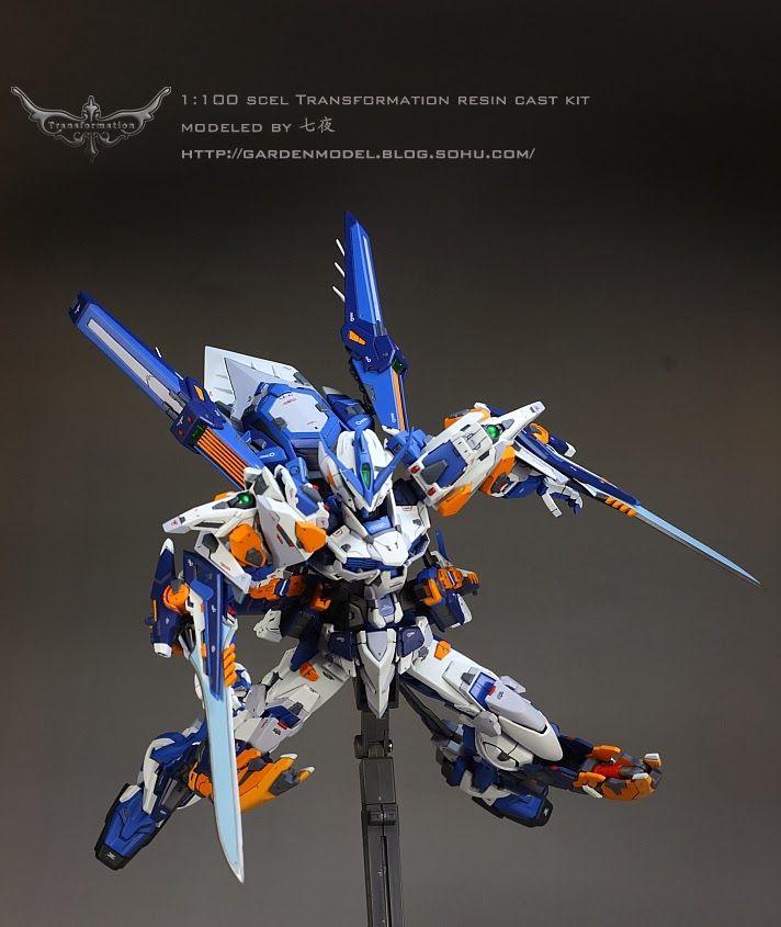 GUNDAM GUY: Gundam Astray Blue Frame Ver. TM - Customized Build