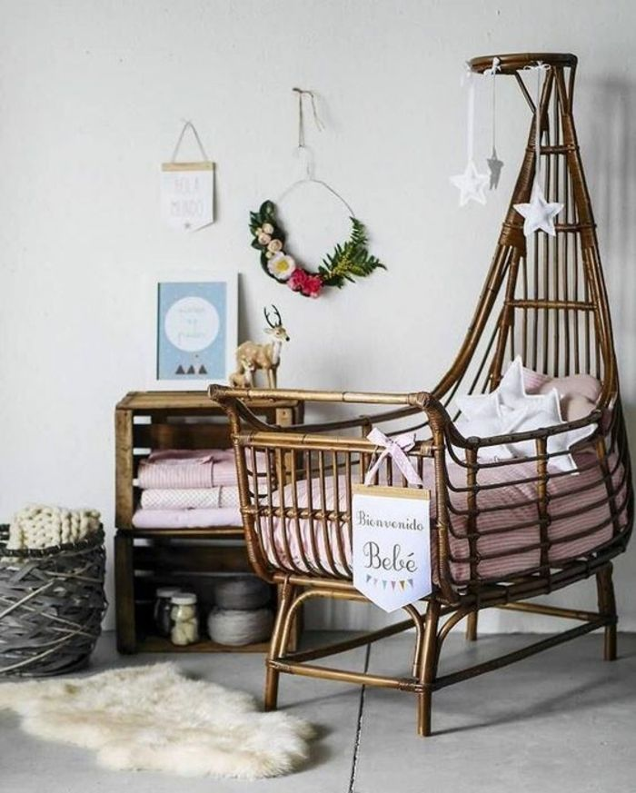 1001 ideen f r babyzimmer m dchen babyzimmer boho. Black Bedroom Furniture Sets. Home Design Ideas