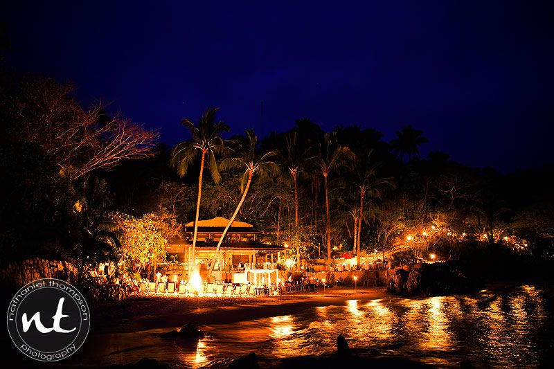 Las Caletas Island Mexico Where My Neice Was Married Puerto Vallarta Wedding Beach At Night Adventure Wedding