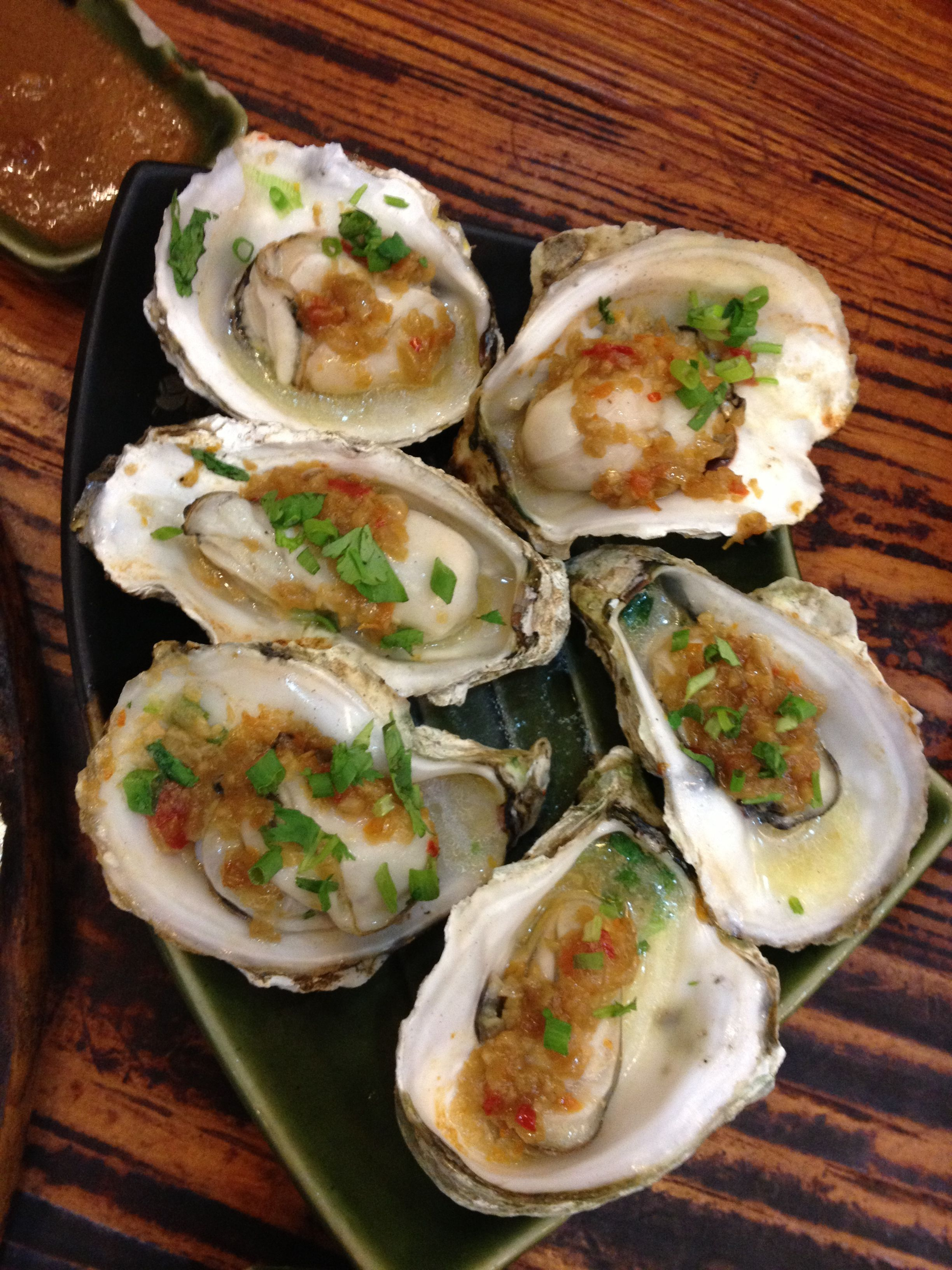 Baked Oysters | Sea Food and More | Pinterest