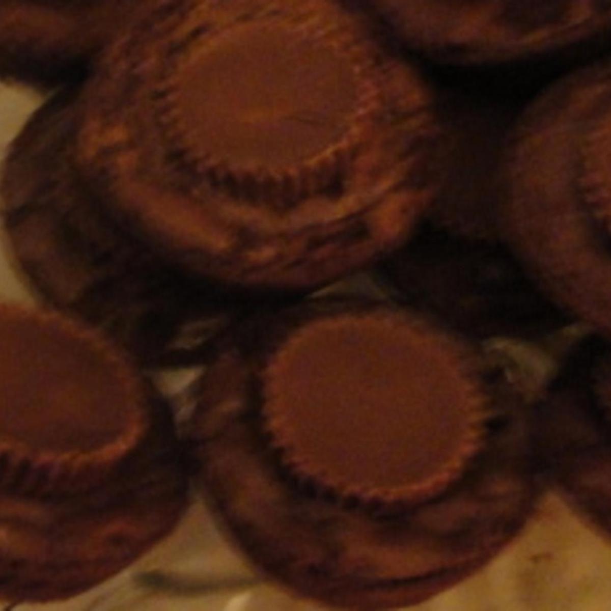 mini peanut butter cup brownie bites