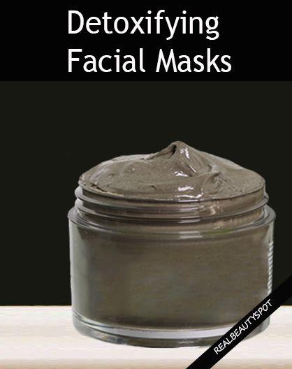 DIY Detoxifying facial Masks for healthy glowing skin