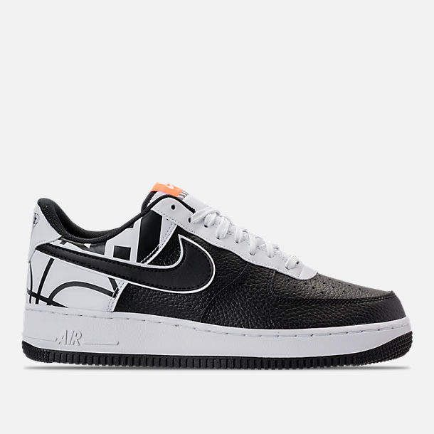 Men's Nba Air Force 1 '07 Lv8 Casual Shoes, Black