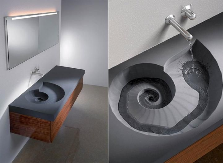 Lavabos originales: Ammonite Sink | モールテックス素材 ...