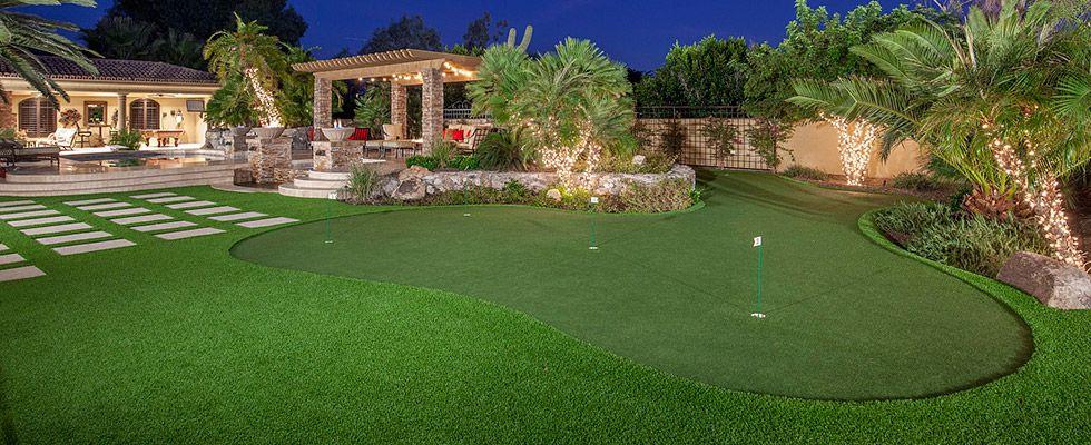 Home Putting Greens Arizona, Artificial Backyard Putting ...