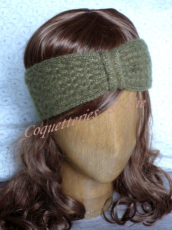 tricoter cache oreille