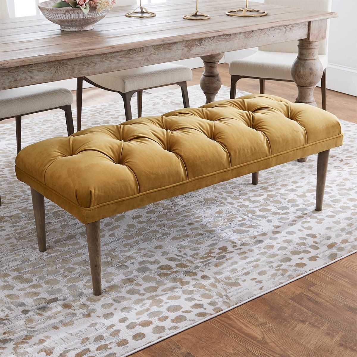 30++ Leather bench seat for dining table Various Types