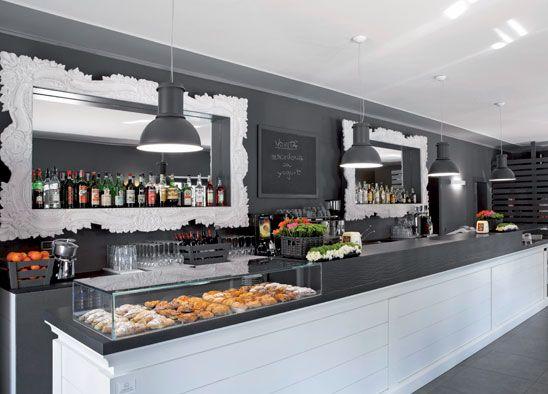 Pin di gabriele meriggiani su caffetterie bar e bistrot for Composita arredamenti