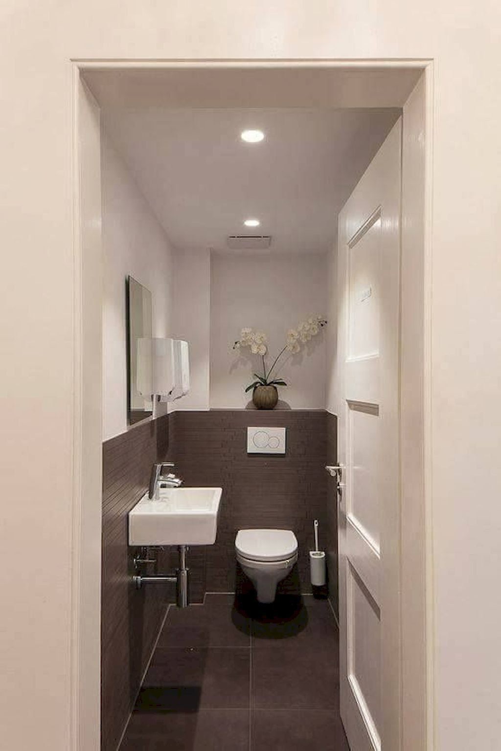 Space Saving Toilet Design For Small Bathroom Small Toilet Room