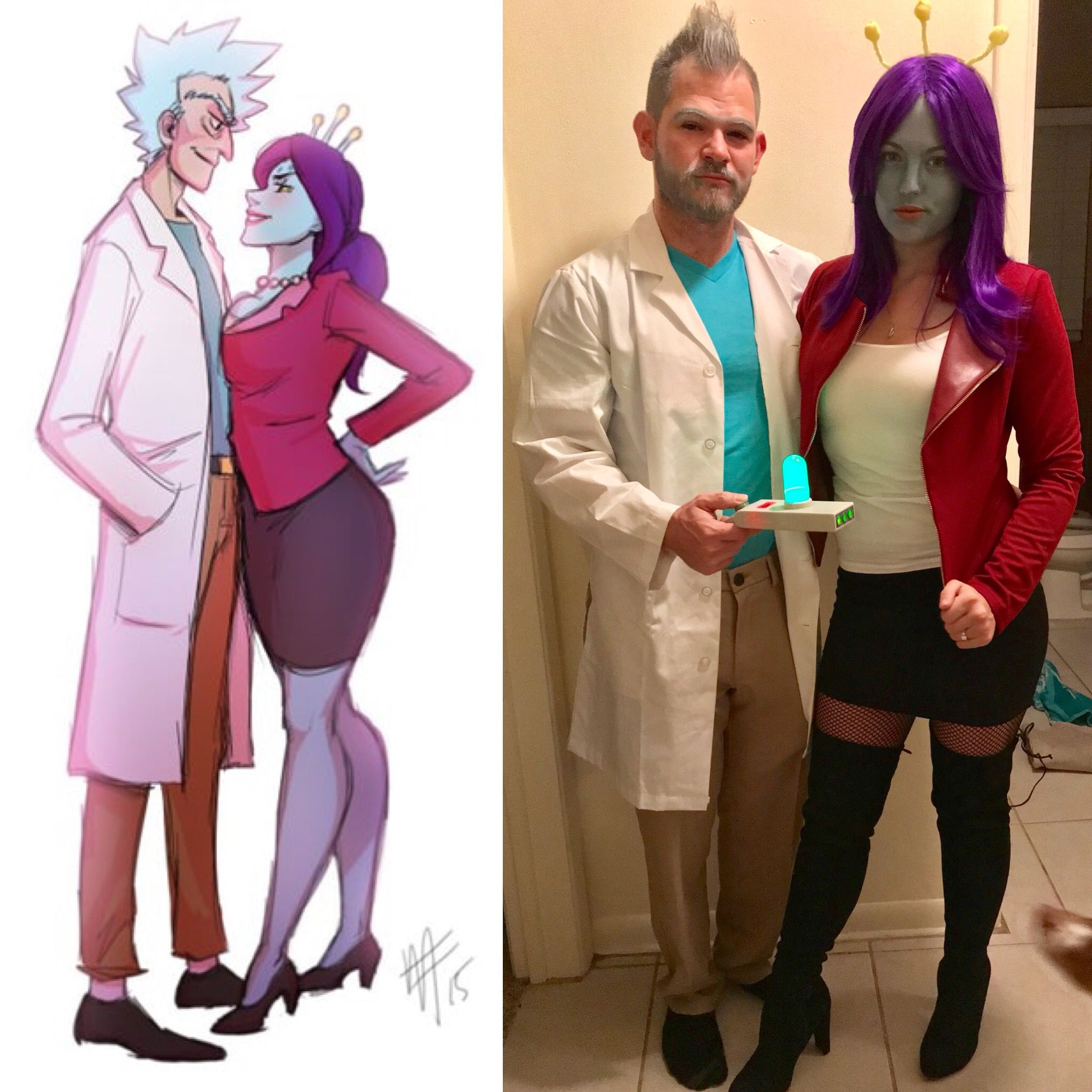 Adult swim costume