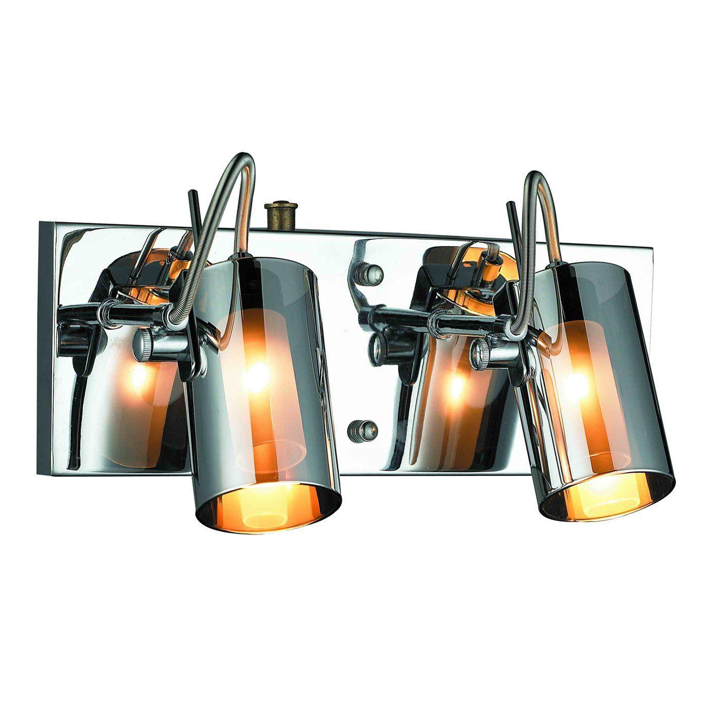 Gen-Lite Industries 103821 2 Light Silhouette Wall Sconce