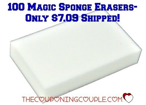 WOW!! Get 100 Magic Sponge Erasers for only $7.09 shipped! Great for cleaning tires, patio furniture, and all your other cleaning needs!  Click the link below to get all of the details ► http://www.thecouponingcouple.com/100-magic-sponge-erasers-for-only-7-09-shipped/  #Coupons #Couponing #CouponCommunity  Visit us at http://www.thecouponingcouple.com for more great posts!