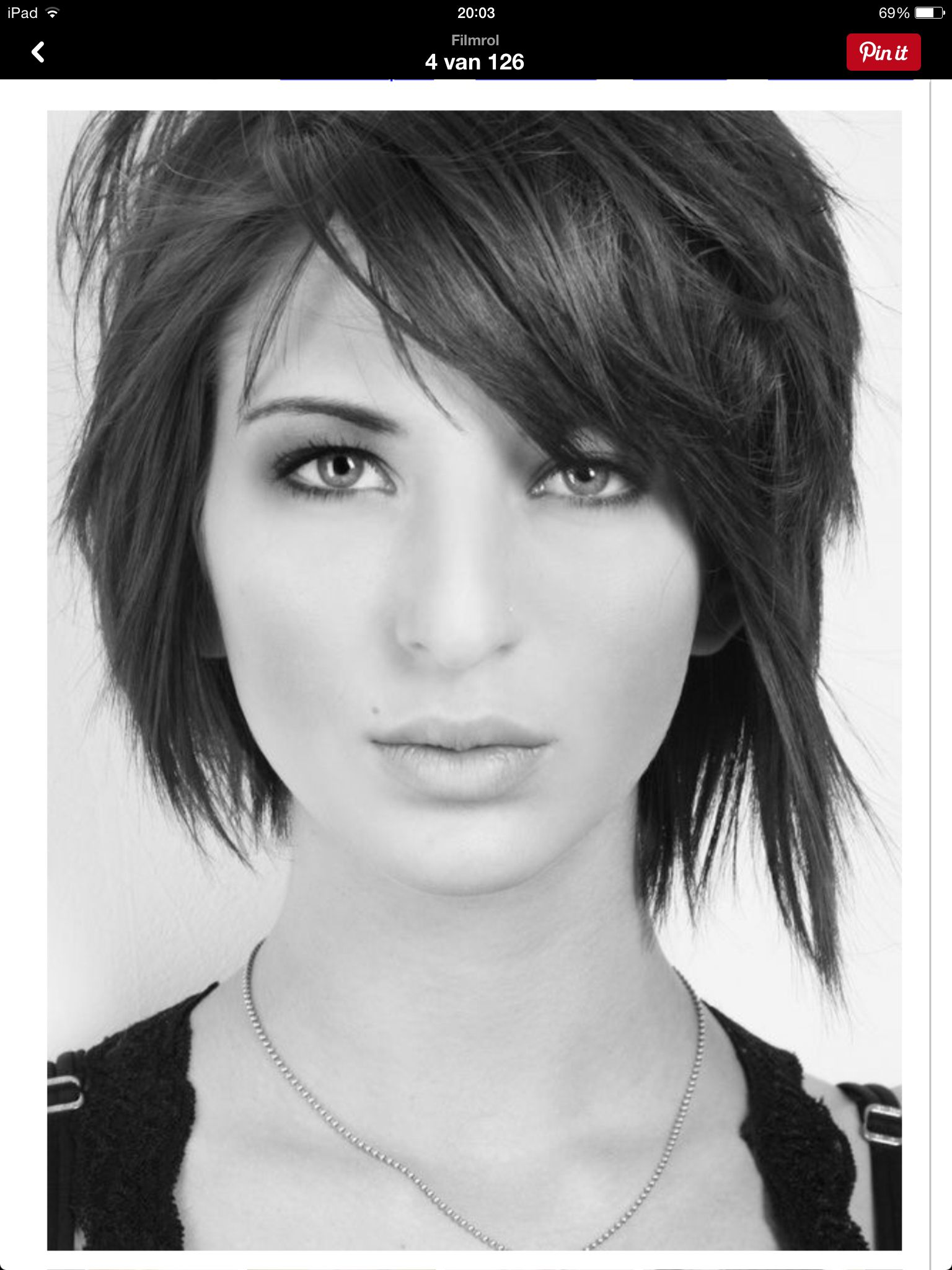 Mooie coupe  Hair Styles  Pinterest  Hair style