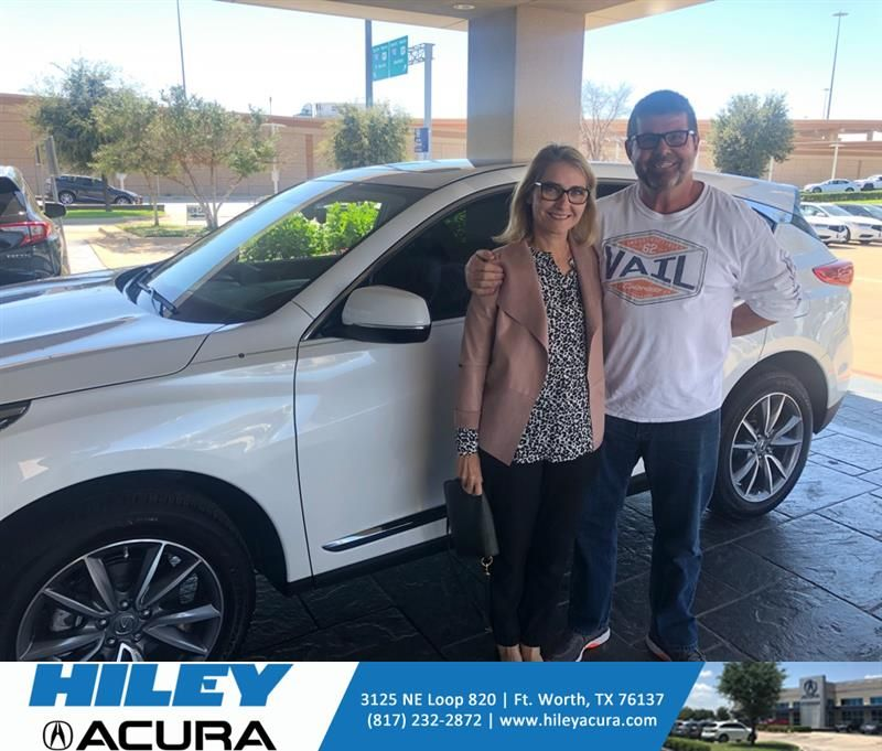 Carrie Thomas Did Another Acura Lease At Hiley Got A Better Deal Too Thanks Austin Acura Welcome To The Family Happy Anniversary