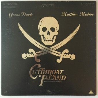 Cutthroat Island Laserdisc