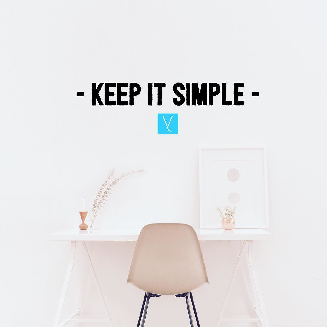 Keep it simple __ Start simplifying your life and eliminate unnecessary stress. The key is to start with what scares you the most first. Gradually the burden gets smaller and smaller. Even though the process has been slow its been totally worth it! Give it a go I dare you. __ To read the full post and meet our rebels check out http://ift.tt/1m5VvPP. Link in bio! // Em Robinson // @goingminimalist  __ everythingidid.com is full of real stories from real people to help you build a better life…