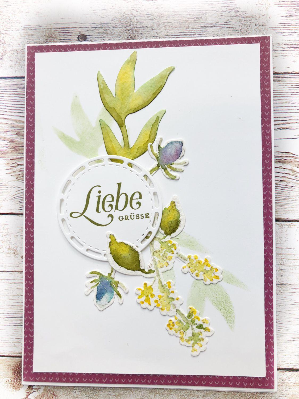 Stampin Up Produkte Und Basteltipps Blumenkarten Karten Und Basteln