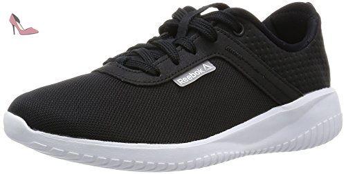 Reebok Zquick Lite, Chaussures de Running Entrainement Homme - Jaune (Solar Yellow/Black/White), 41 EU