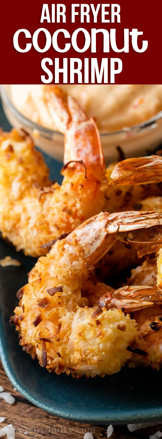 Photo of Air Fryer Coconut Shrimp Recipe