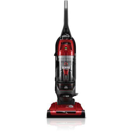 Hoover Elite Uh71012 Rewind Bagless Upright Vacuum 44 Black