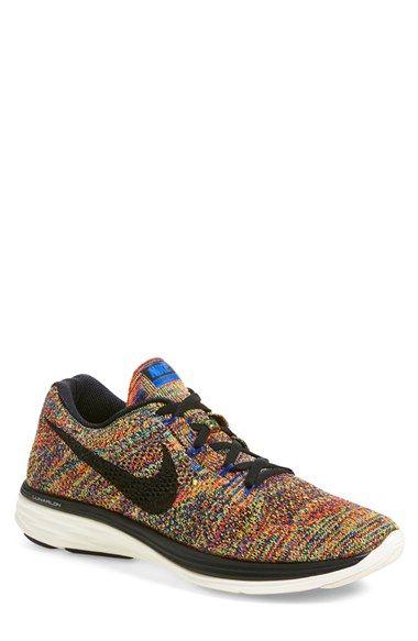 Nike 'Flyknit Lunar 3' Running Shoe (Men) (Regular Retail Price: $150.00) available at #Nordstrom