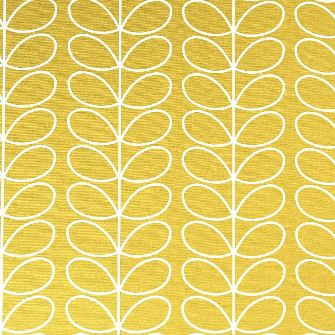 Cotton Orla Kiely Fabric Retro Colorful Sold By Meter