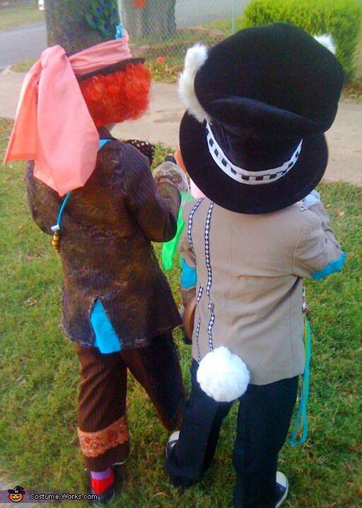 Mad Hatter u0026 Crazy Rabbit Costumes - Halloween Costume Contest & Mad Hatter u0026 Crazy Rabbit - Halloween Costume Contest at Costume ...