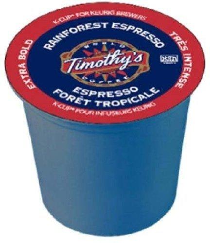 Timothy's World Coffee Rainforest Espresso 96 KCups