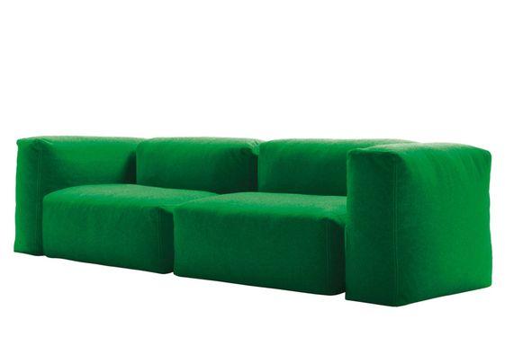Superoblong Cappellini Sofa Sofa Design Green Sofa