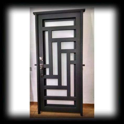 Puerta pinteres for Puertas de entrada principal minimalistas