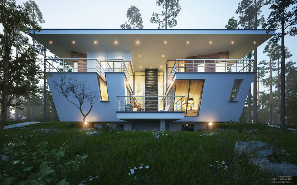 Contemporary House Near Moscow By Atrium Architects: The Gorki House By Atrium. Http://cgpinoy.org