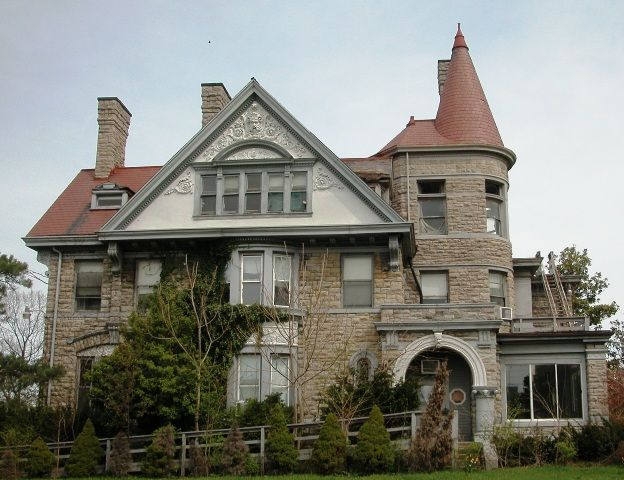 A Magnificent 1886 Samuel Hannaford Designed Mansion This 8 026 Sq Ft Mansion Has 33 Rooms Including 10 Bedroom Victorian Architecture Mansions Architecture