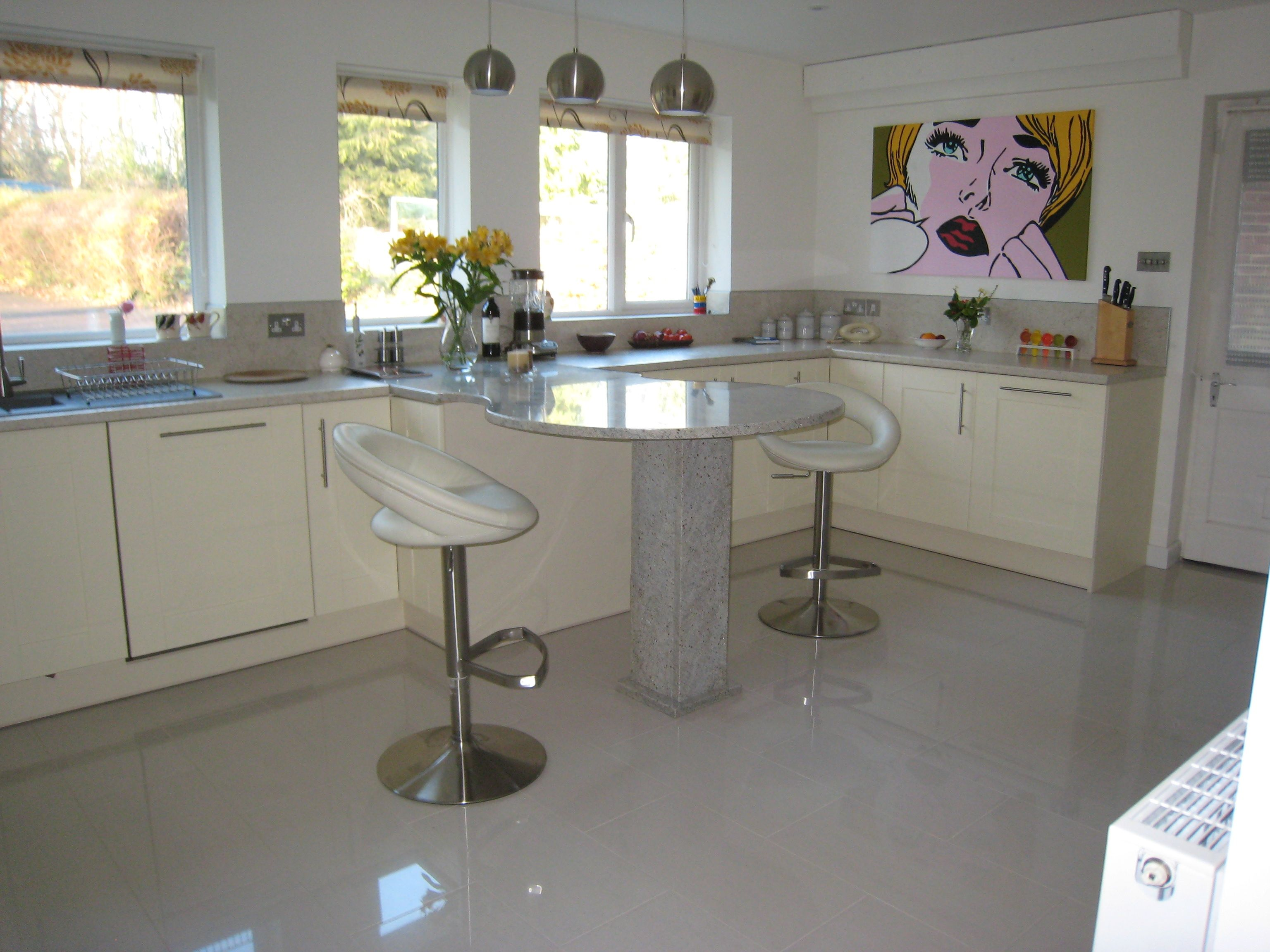 High gloss cream kitchen floor tiles httpnextsoft21 high gloss cream kitchen floor tiles dailygadgetfo Gallery