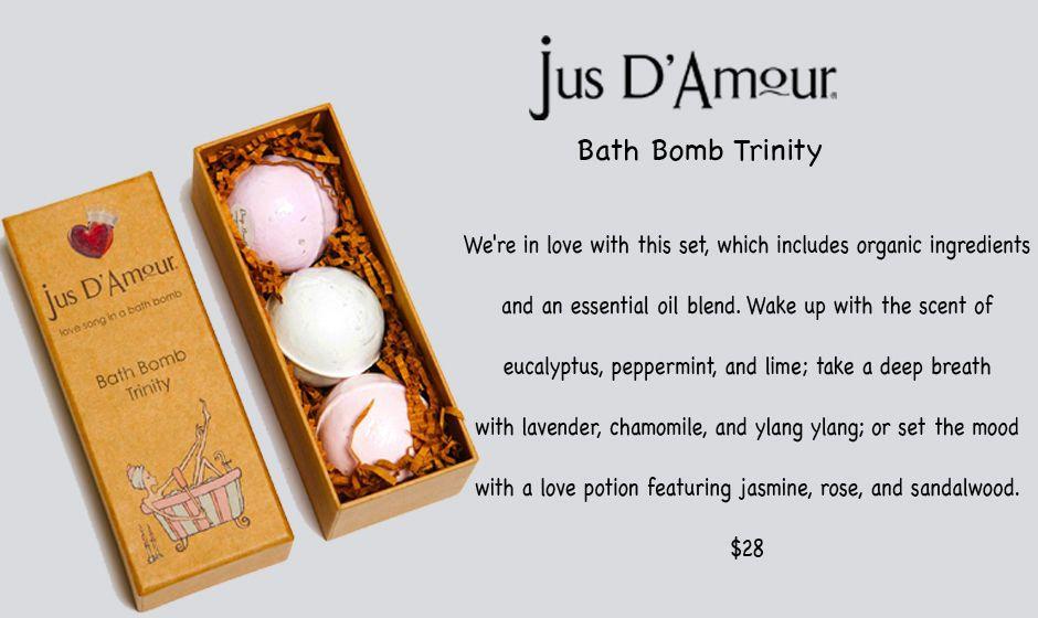 Jus D'Amour Bath Bomb Trinity Love Potion Wake Up Deep Breath $28 NIB #JusDAmour