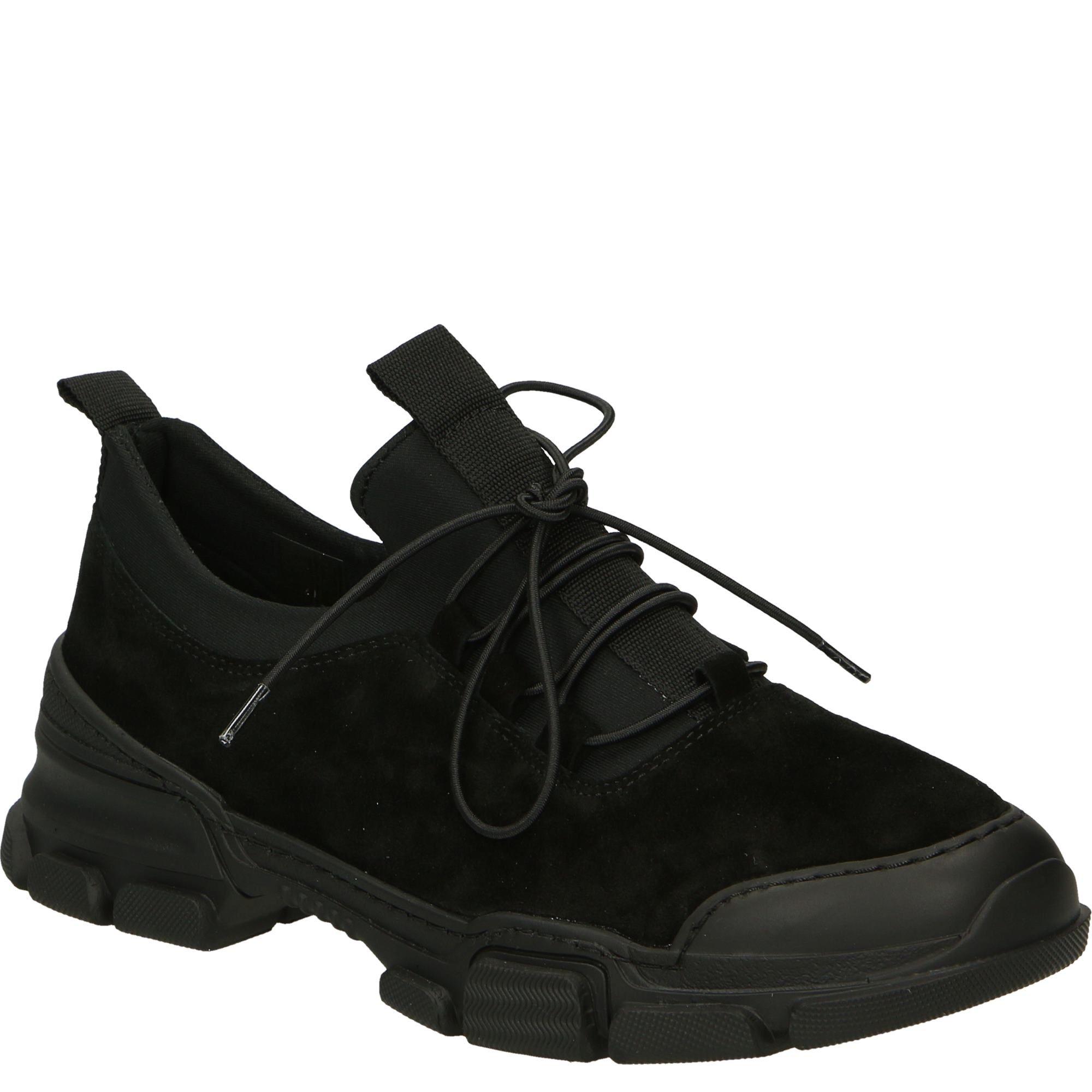 Sportowe Polbuty Z Zamszu 0226192319k Blac Shoes Sneakers Nike Nike Huarache