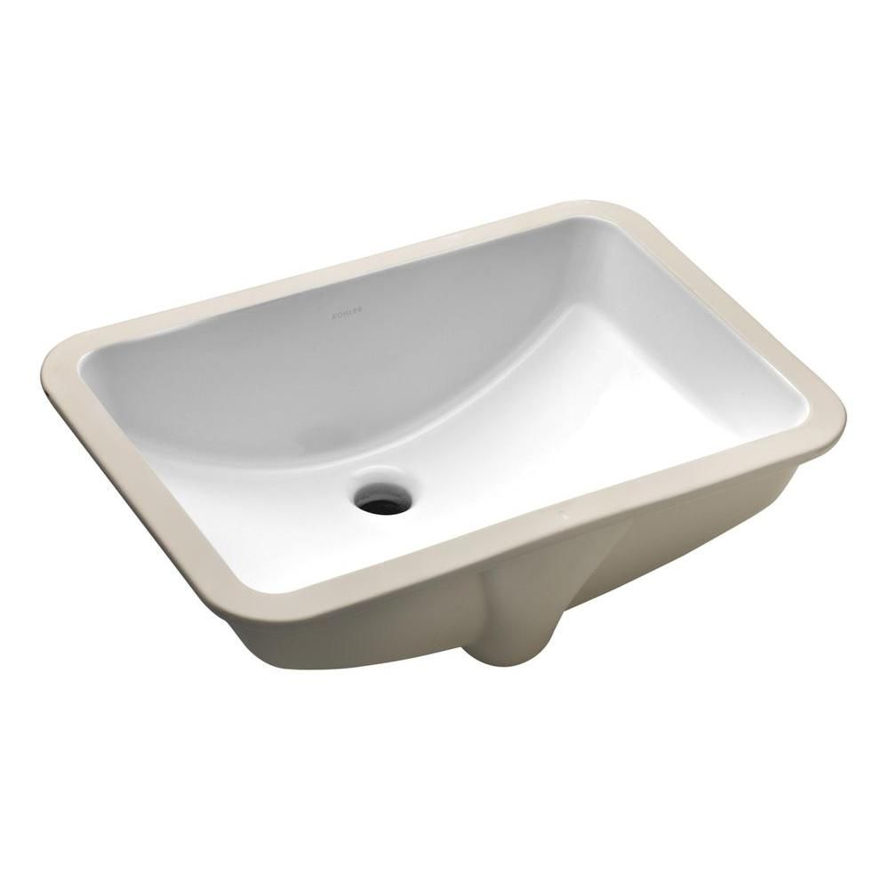 Kohler Ladena Undermount Bathroom Sink With Overflow In White K 2214 0 At The Home Depot Small Undermount Bathroom Sink Bathroom Sink Rectangular Sink Bathroom [ 1000 x 1000 Pixel ]