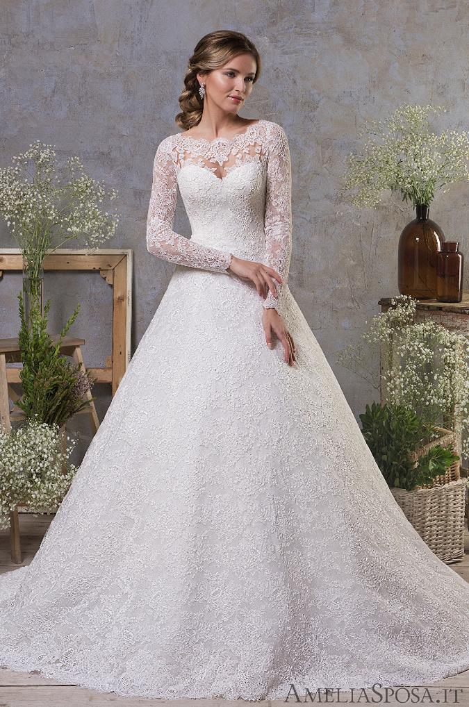 Classic Feminine Beauty In These Amelia Sposa Wedding Dresses Modwedding Cheap Lace Wedding Dresses Italian Wedding Dresses Amelia Sposa Wedding Dress