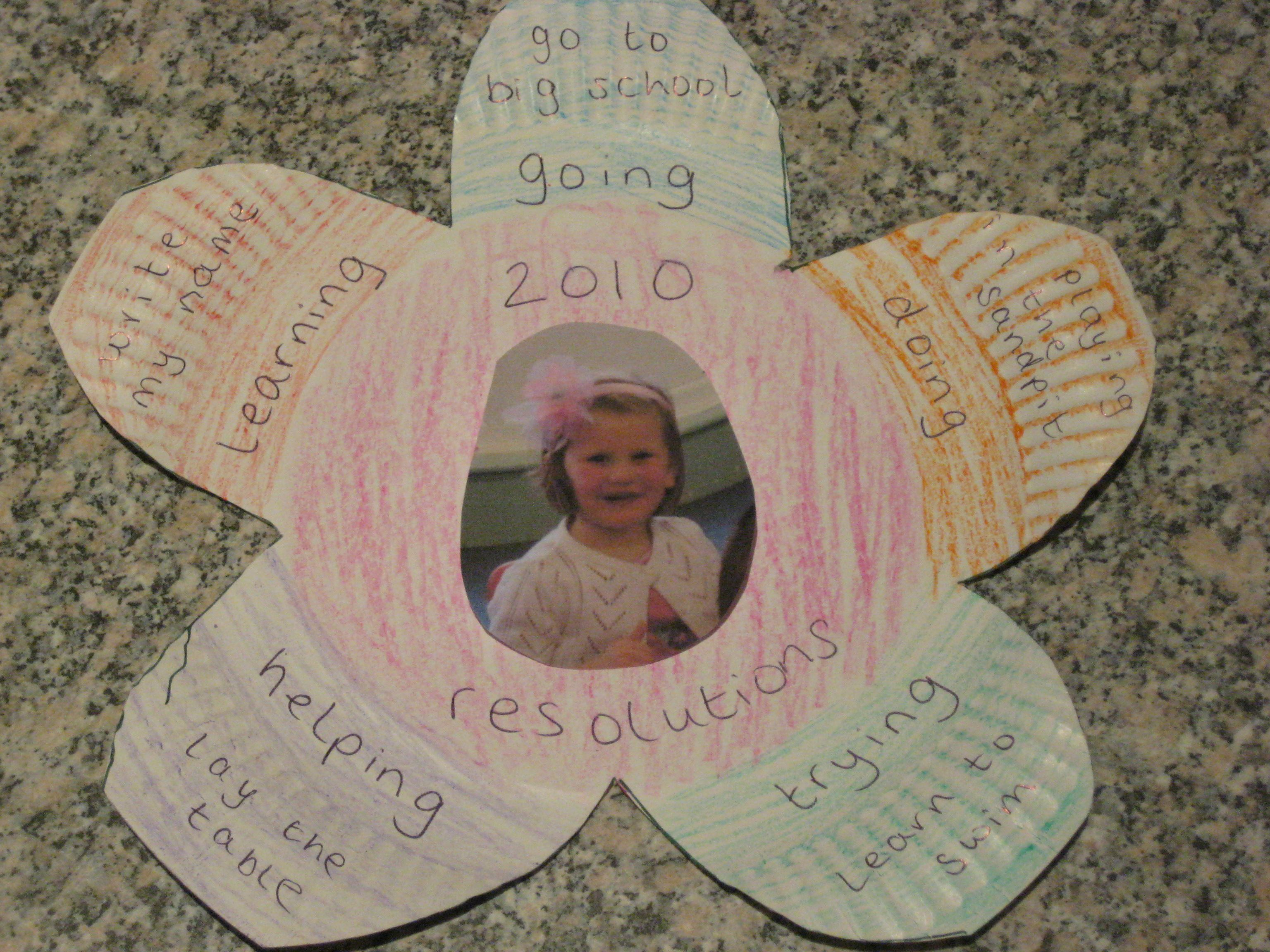 Childfriendly New Year's resolutions New years