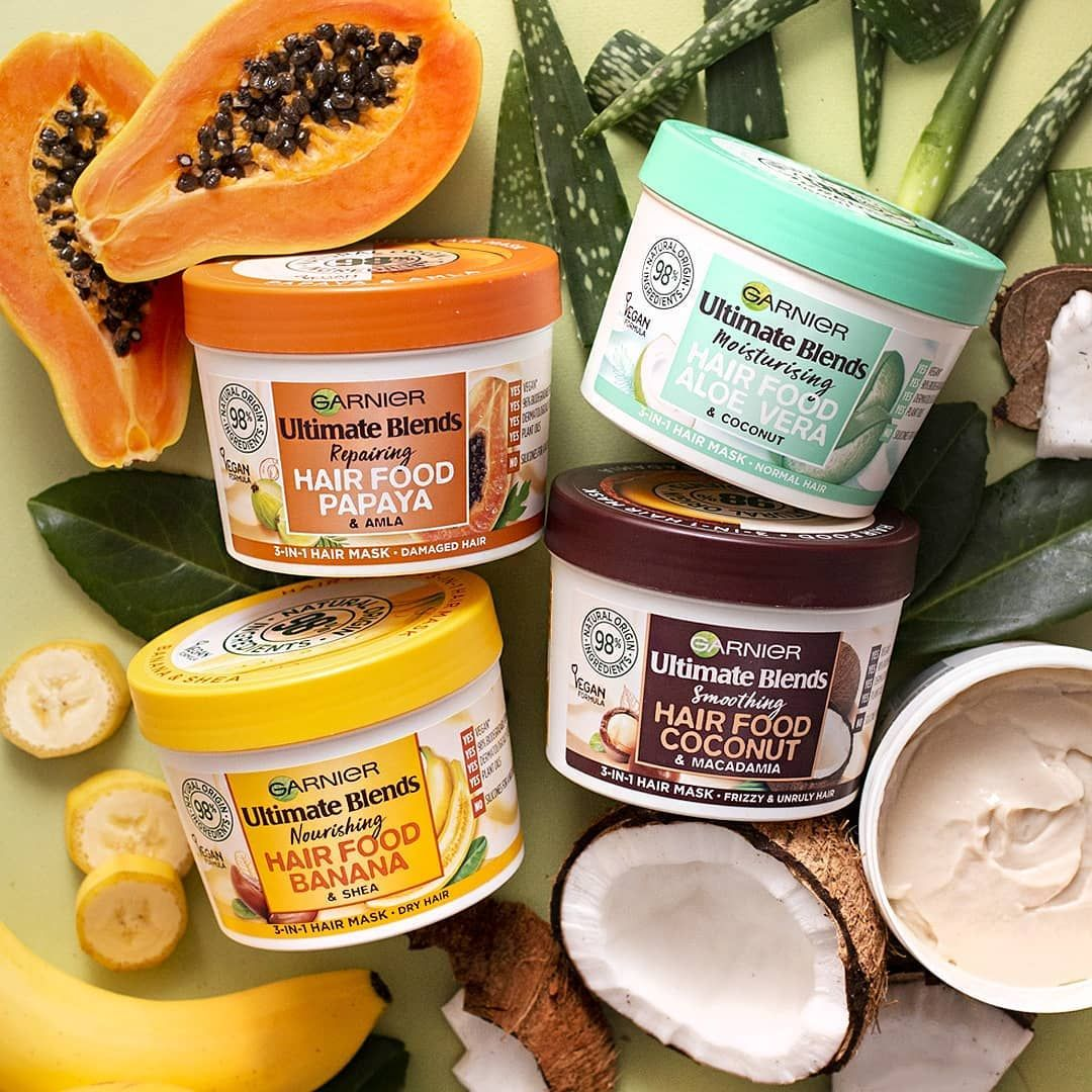 Garnier Uk Ireland On Instagram It Has Landed Introducing Hair Food By Ultimateblends Our New 3 In 1 Hair Food Vegan Hair Care Macadamia Hair Products