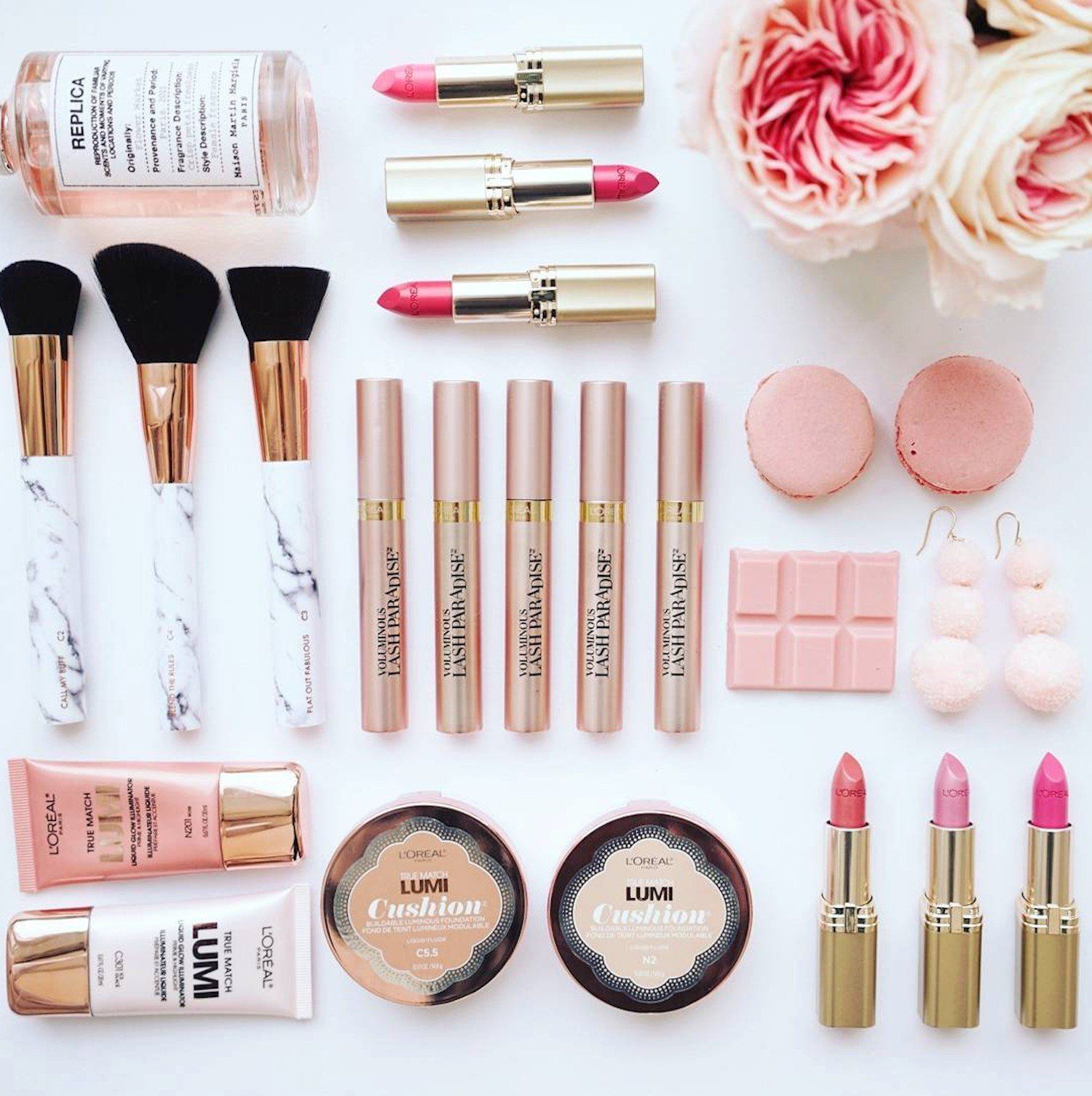 stylish Beauty advisor, Loreal makeup products, Loreal